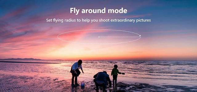 C-Fly DREAMのフライアラウンドモードの画像