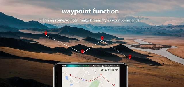 C-Fly DREAMのウェイポイントモードの画像