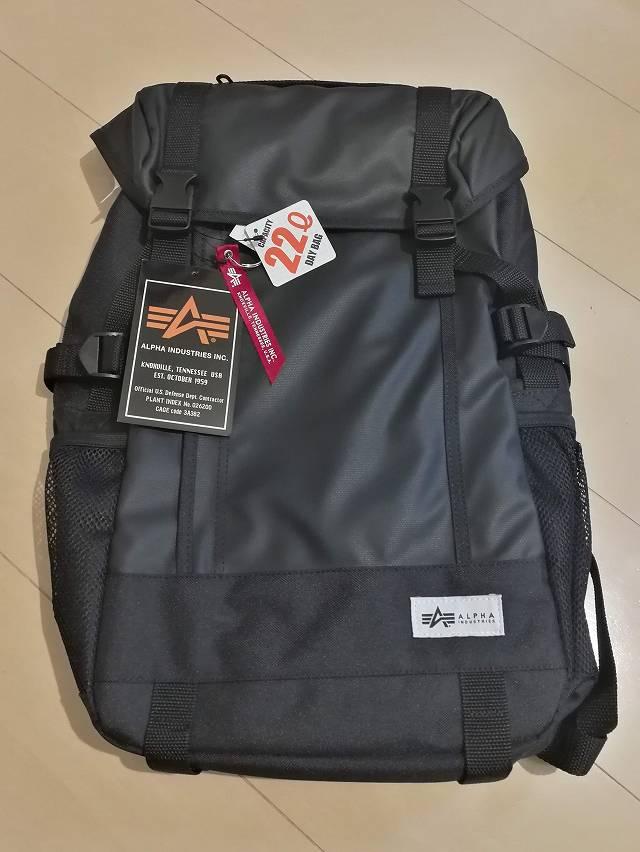 サンワダイレクト スクエアリュック 200-BAGBP004 の開封直後画像