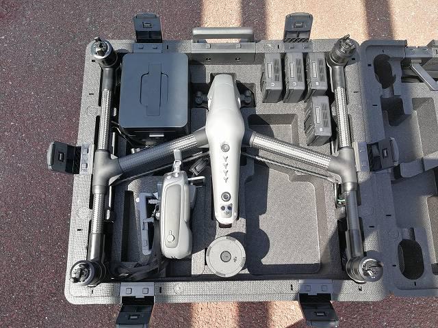 DJI Inspire2のケース内部の画像