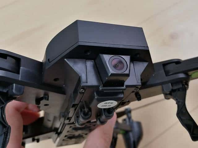 GW8807-GPSのカメラ部拡大画像
