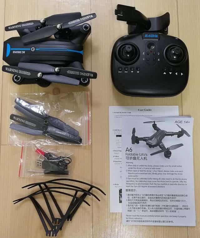 GW8807 GPSなしモデルの内容物一式画像