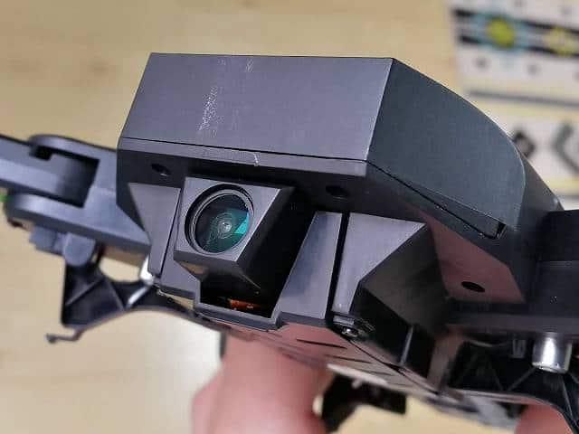 GW8807 GPSなしモデルのカメラ部拡大画像