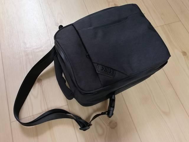 SJRC Z5専用キャリングバッグにショルダーベルトを付けた画像