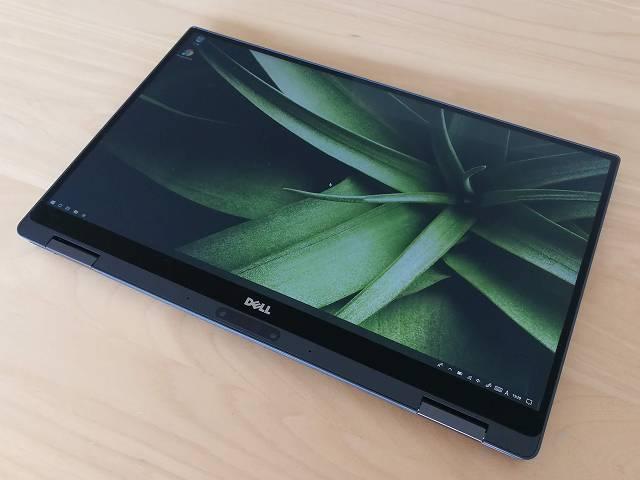 New XPS13 2-in-1 プレミアム のタブレットモードの画像