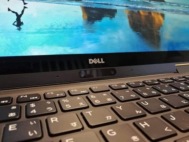 New XPS13 2-in-1 プレミアム のWindows Hello対応カメラの画像