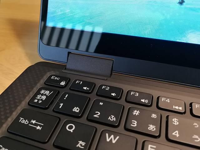 New XPS13 2-in-1 プレミアム のFnキーロックボタン(ESC)画像