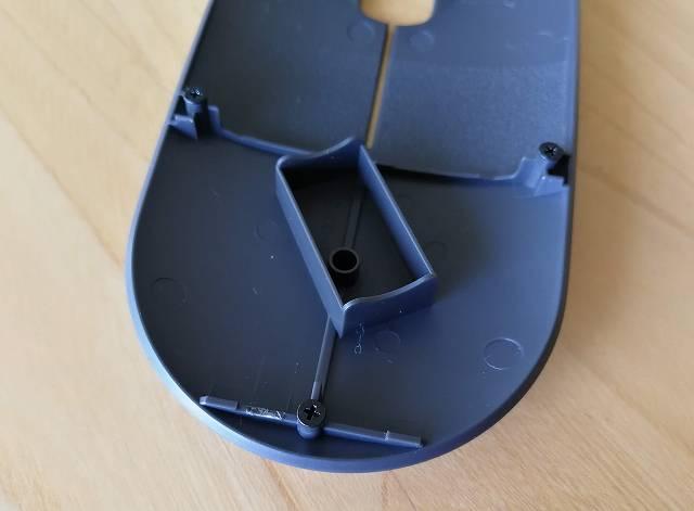logicool Pebble M350 の蓋の裏側画像