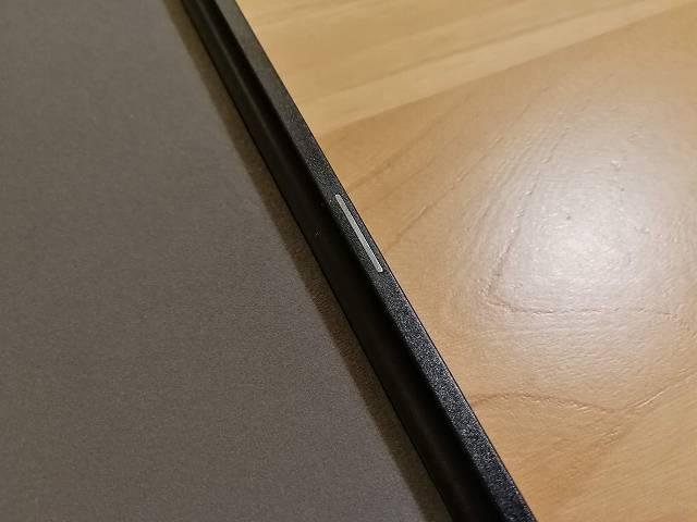 Amazon fire HD 10の社外製カバーのマグネット部分の画像