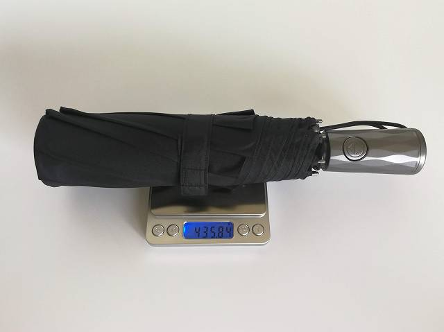 Nano Easy Umbrella の重さ計測画像