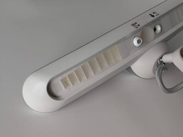 独自開発の導光ルーバー