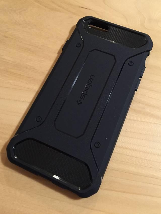 iPhone6用 Spigen耐衝撃ケース
