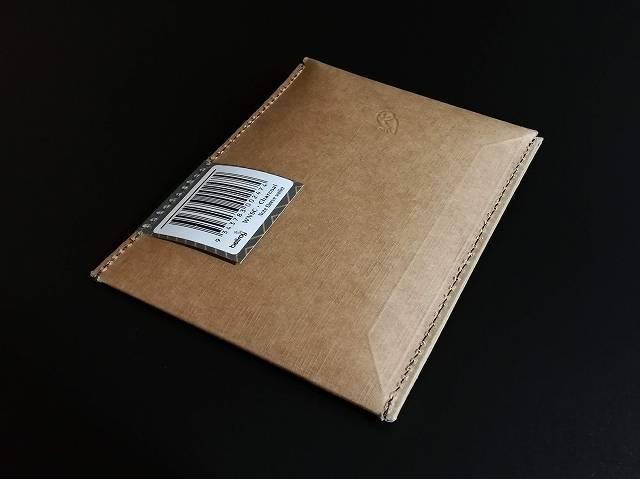 ベルロイノートスリーブウォレットのパッケージ裏面画像