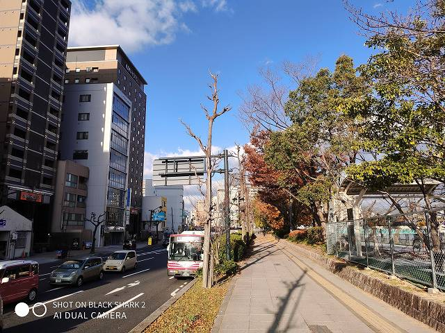 BlackShark2のカメラ比較テスト(BlackShark2で撮った街の風景)