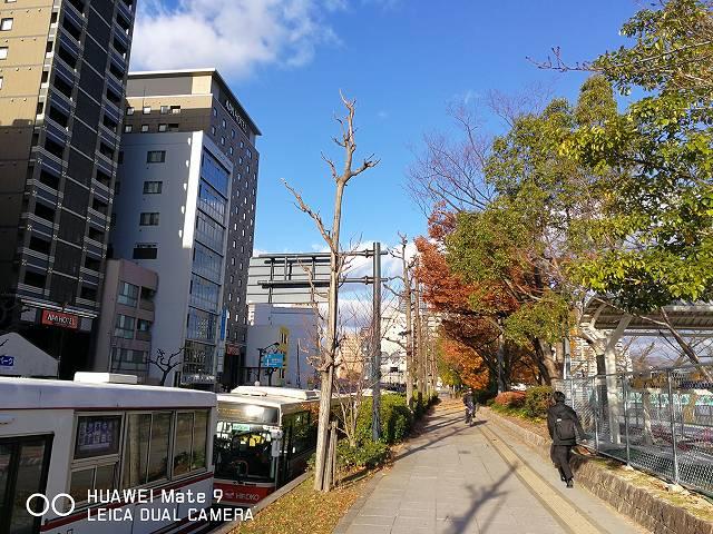 BlackShark2のカメラ比較テスト(HUAWEI Mate9で撮った街の風景)