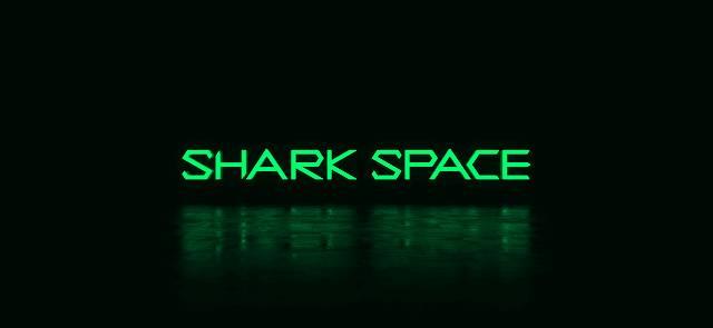 SharkSpaceの起動画面のキャプチャ画像