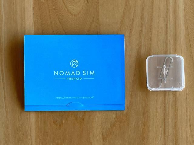 Nomad SIM Pripaidの内容物の画像