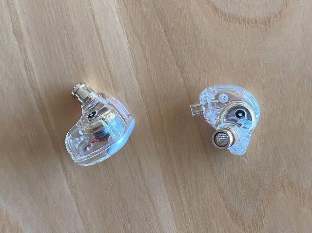 MT3 PROのイヤホン部分の画像