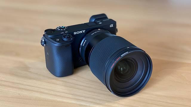 SONY α6400 に SIGMA 16mm F1.4 を装着した画像