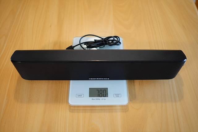 TaoTronics TT-SK028の重さは780g