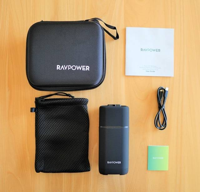 『RAVPower RP-PB054Pro』の付属品一覧の画像