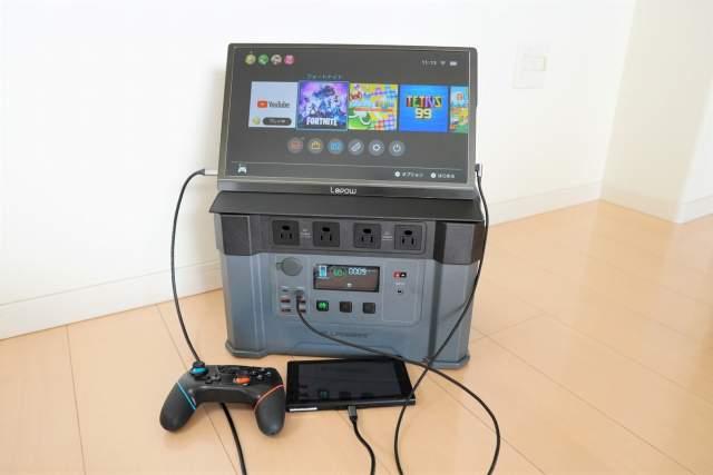 Monster X でスイッチを使うと100時間プレイ可能