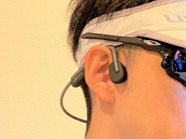耳を塞がず環境音が常に聞こえるので安全面でとても安心
