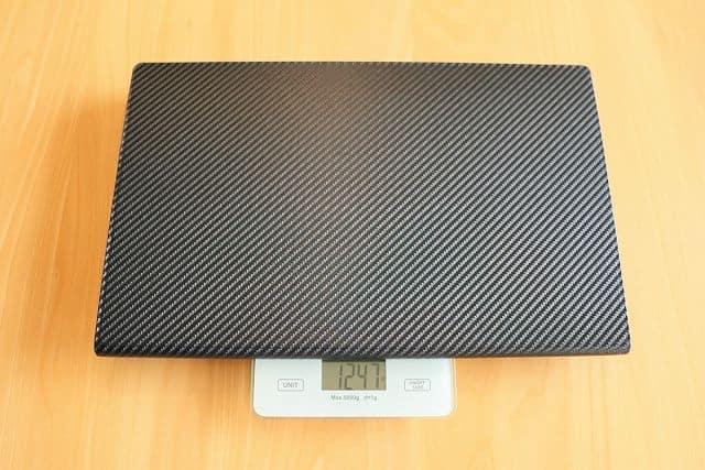 Geoyeao EVP-301の重さを計測している画像