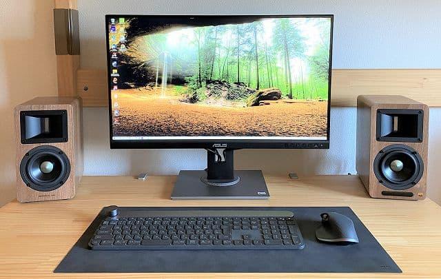 AIRPULSE A80 をデスクトップに配置した画像