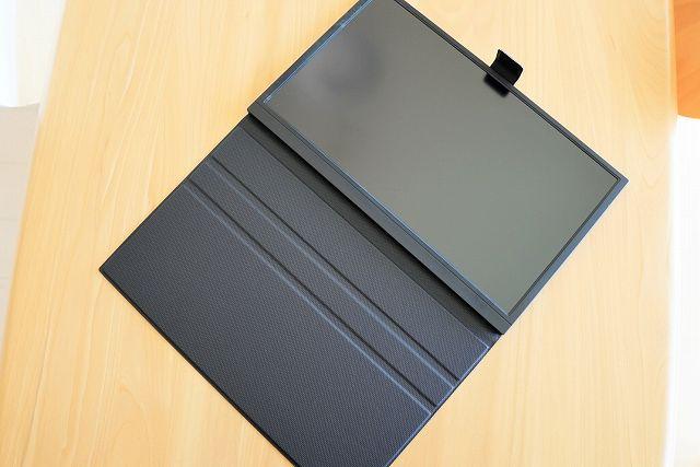 Didar EVP-302の付属カバーは2段階で角度調整可能な画像