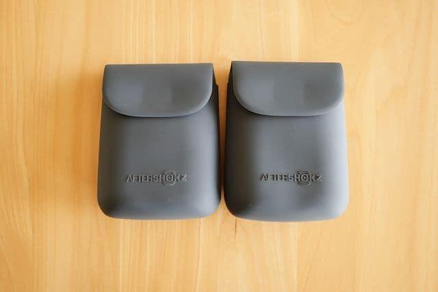 Aeropex Playと通常のAeropexに付属しているケースは全く同じ
