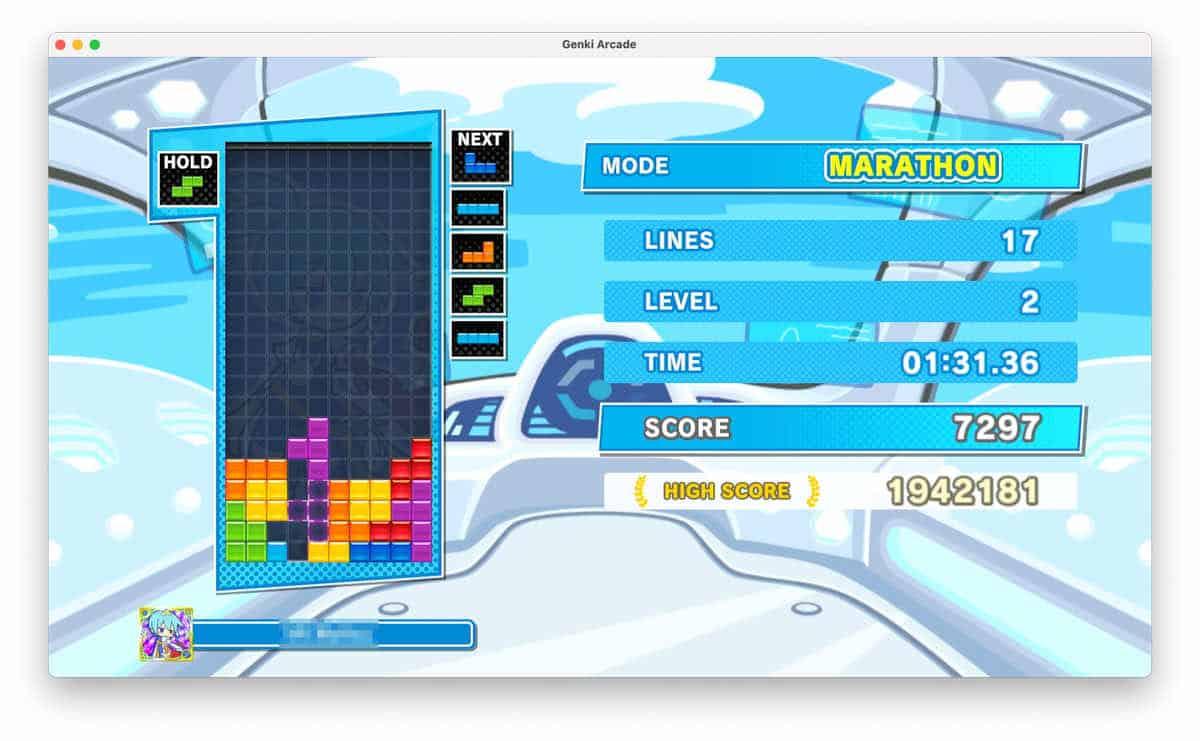 Genki Arcadeでスイッチの映像をキャプチャしている様子のスクリーンショット
