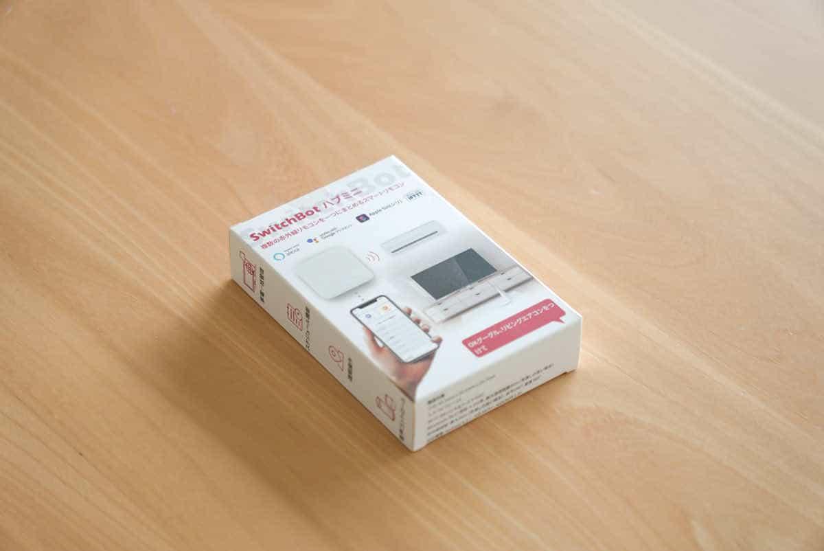 SwitchBot ハブミニの外箱画像