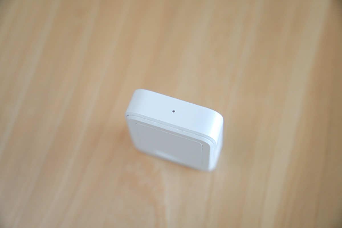SwitchBot リモートボタンのインジケーター部分の拡大画像