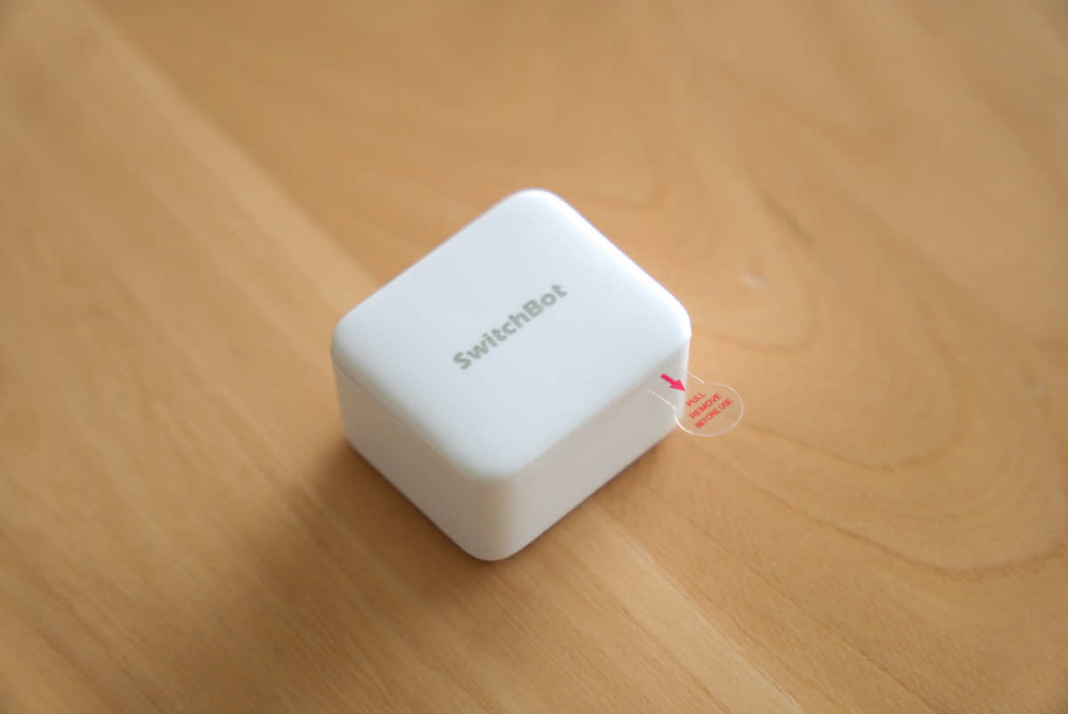 SwitchBot ボット本体の拡大画像