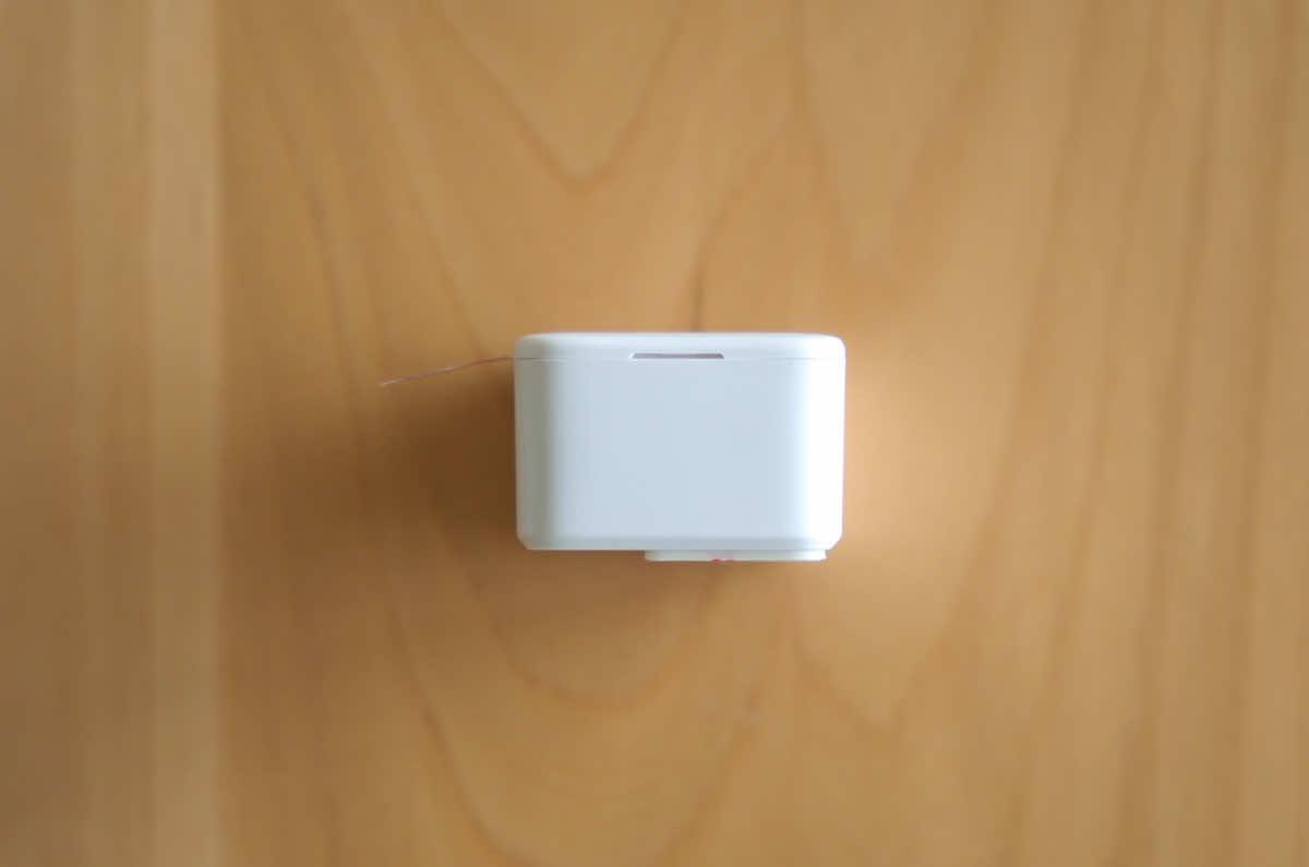 SwitchBot ボット本体のスイッチアーム部分の拡大画像