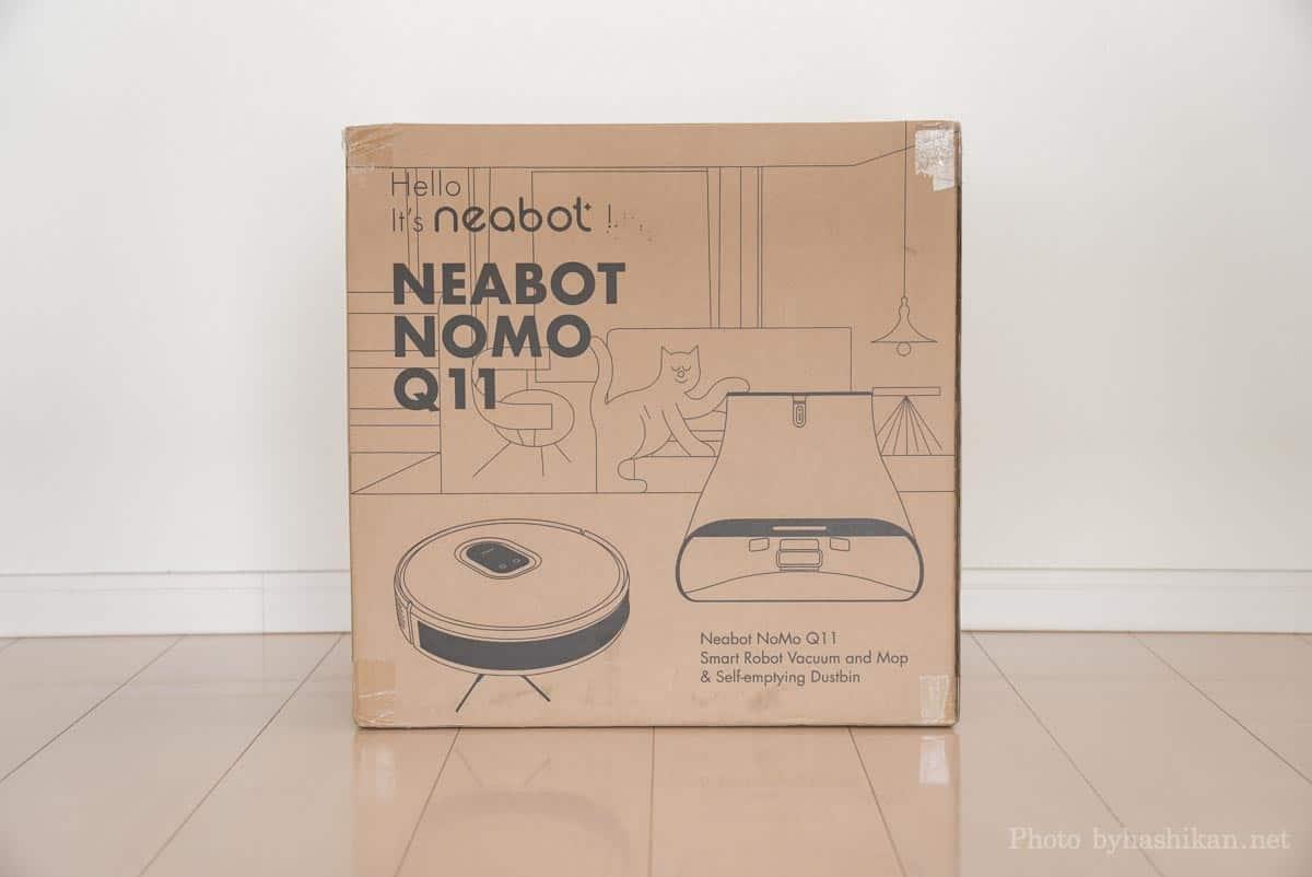 neabot NoMo Q11の外箱画像