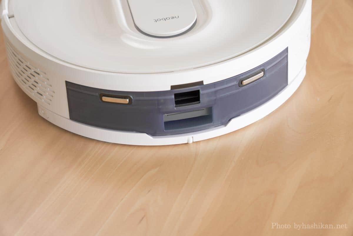 neabot NoMo Q11にモップアダプターを取り付けた状態の画像