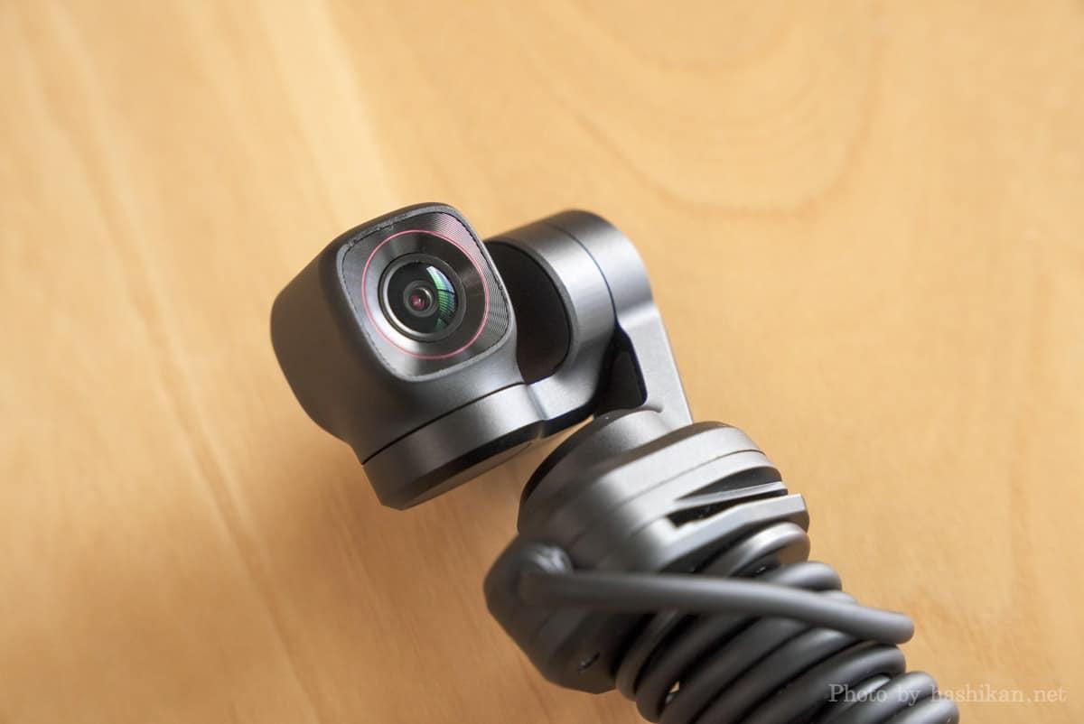 Feiyu Pocket 2S のカメラ部分の拡大画像