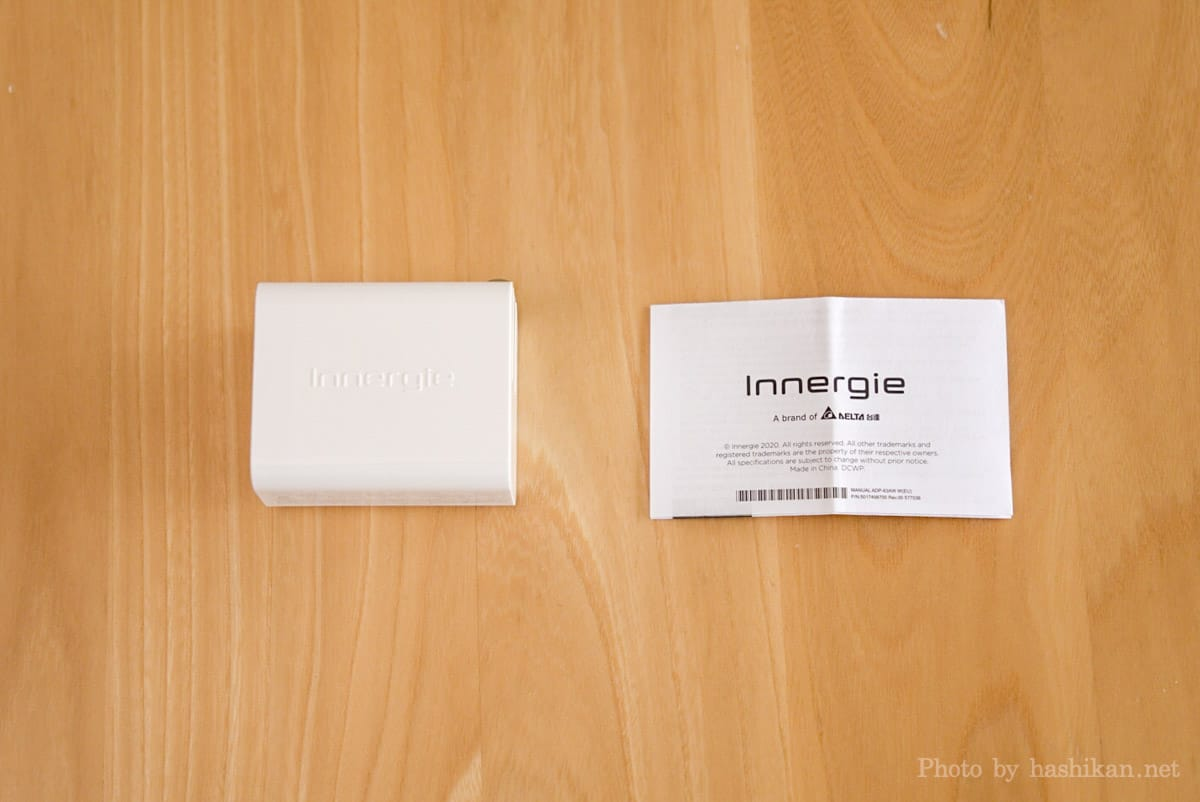 Innergie C6 Duo の内容物一覧