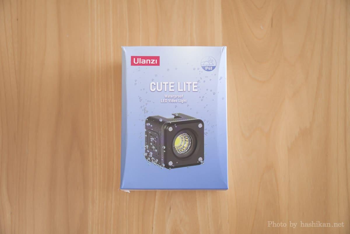 Ulanzi CUTE LITE の外箱