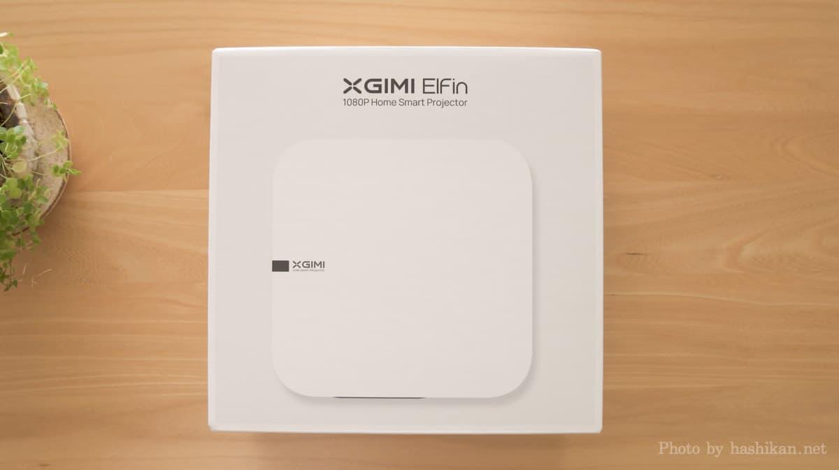 XGIMI Elfin の外箱画像